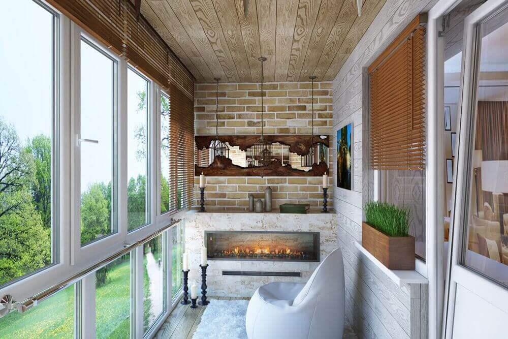 Оформление французского балкона