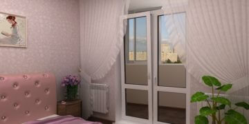 Балконная дверь