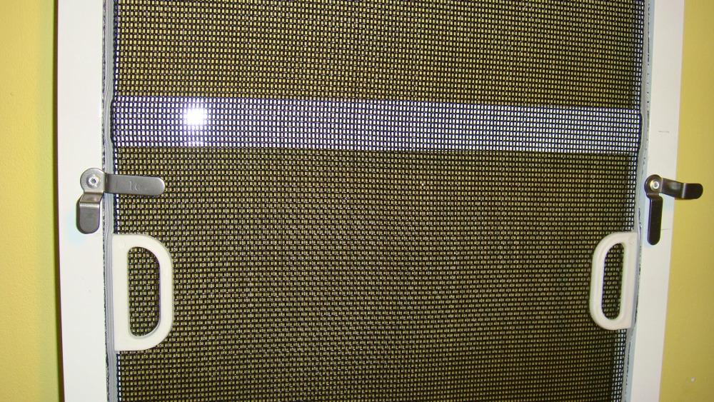 Москитная сетка на пластиковые двери своими руками
