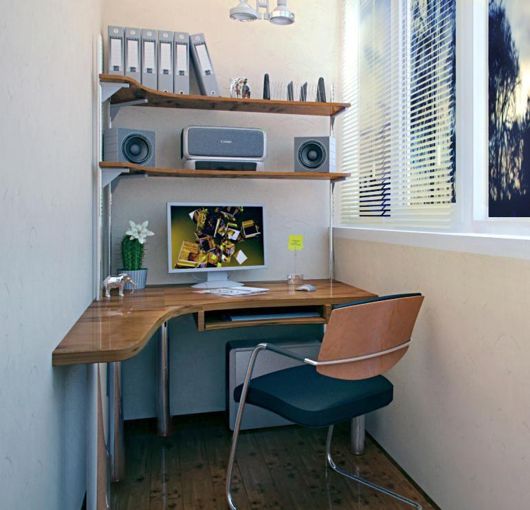 Вариант дизайна кабинета
