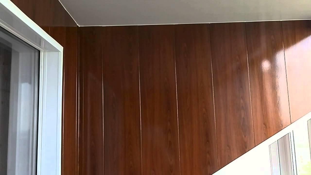 Отделка лоджии мдф панелями