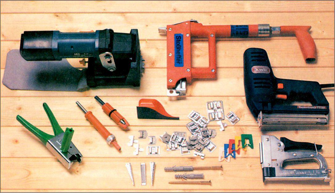 Инструменты, которые могут понадобится для работы