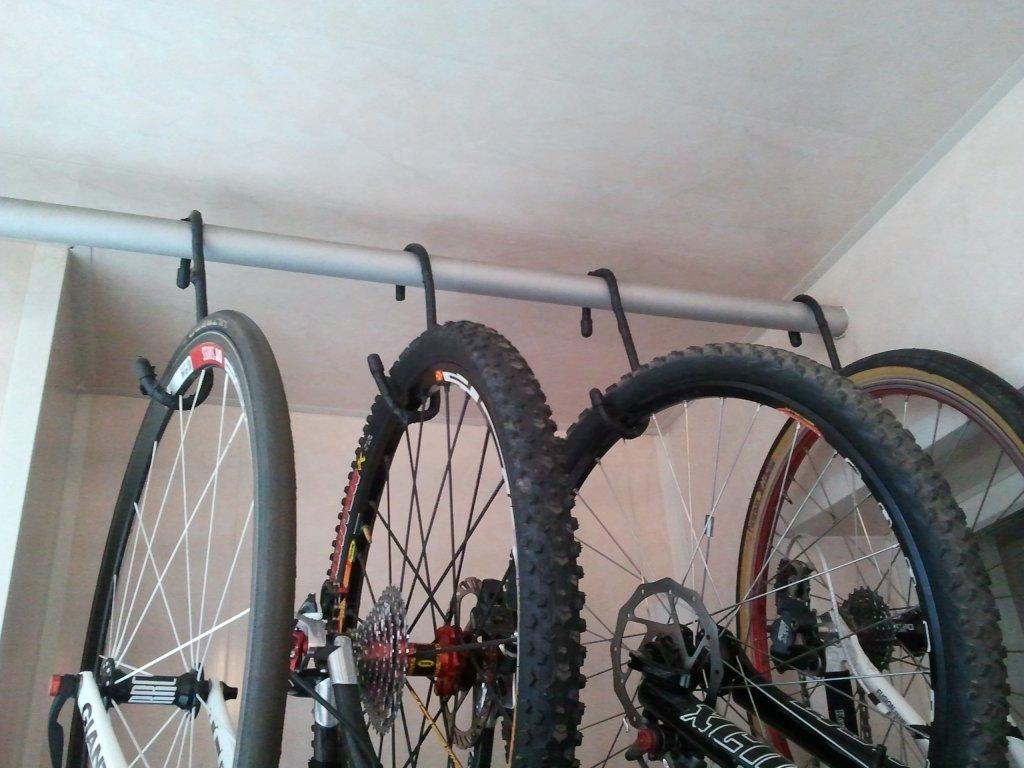 Хранение велосипеда на балконе - как это сделать.