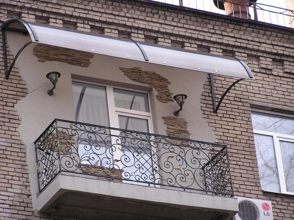 Незастекленный балкон