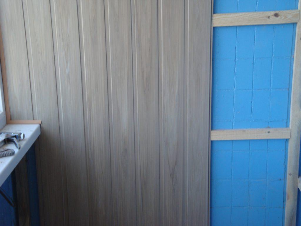 Обшивка балкона пластиковыми панелями своими руками изнутри видео