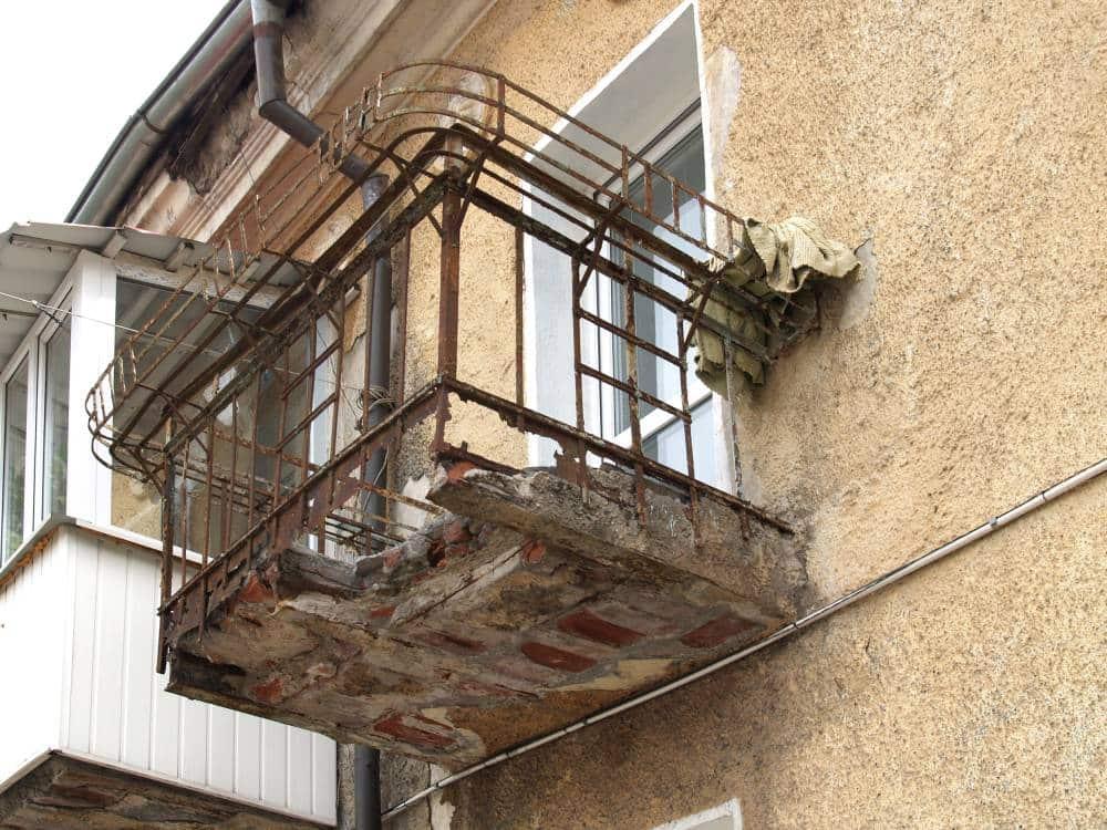 Ремонт балконная плита