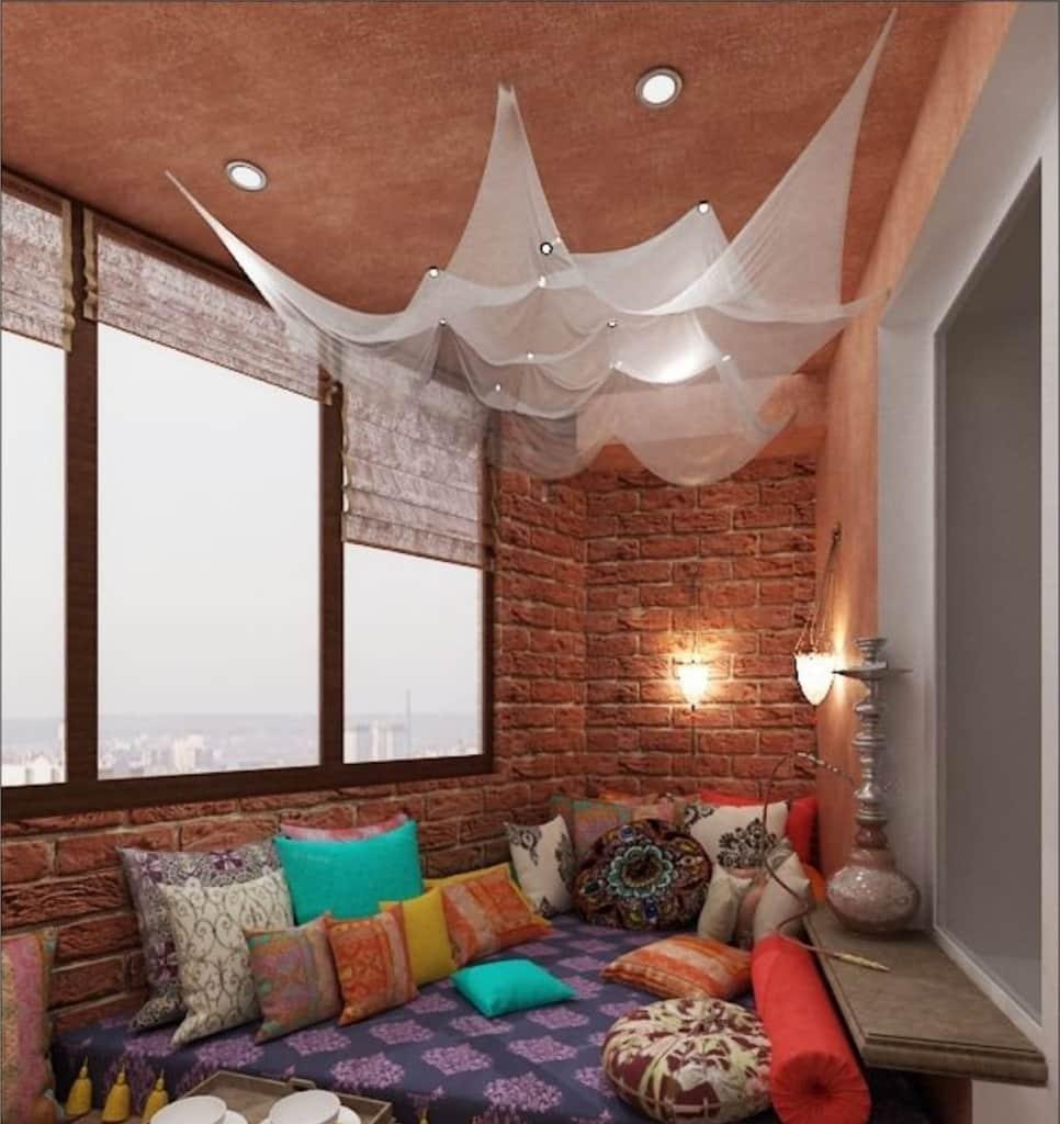 Дизайн лоджии - фото, идеи использования помещения.