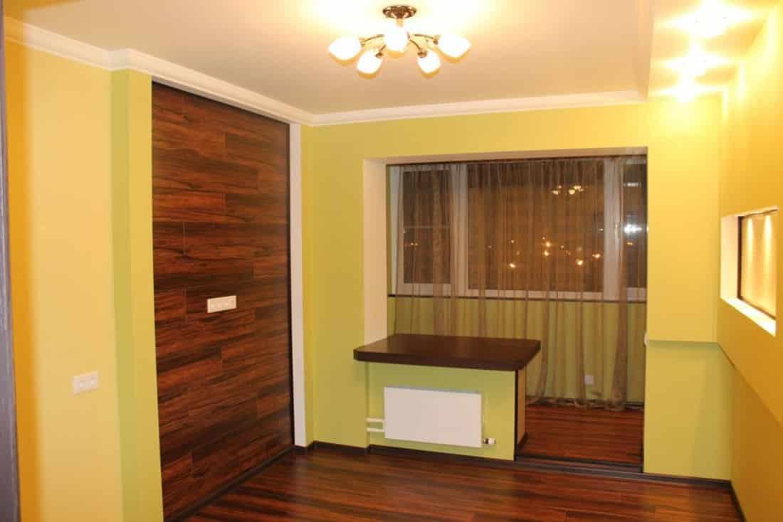 Ремонт однокомнатной квартиры в новостройке от репаирмск.