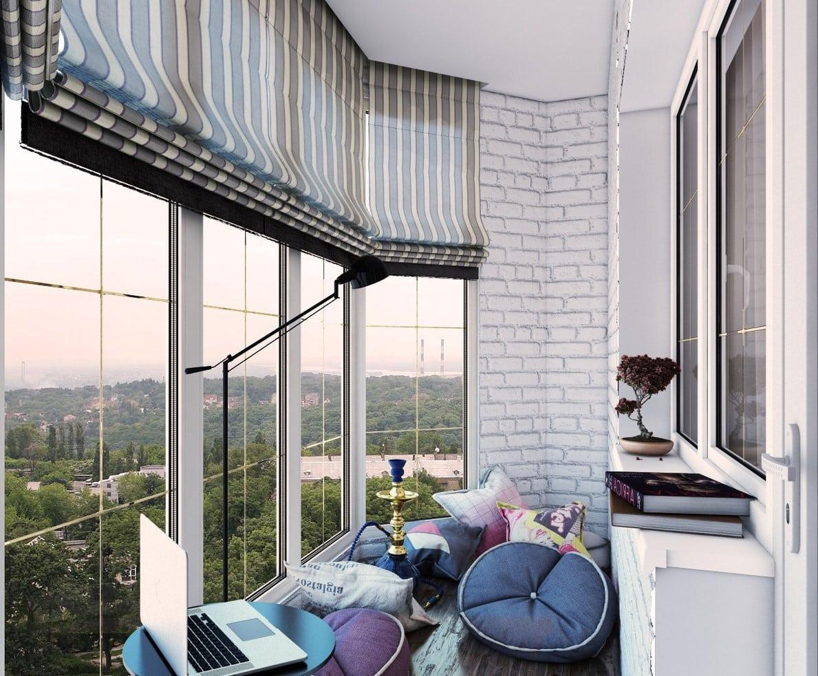 Окна от пола до потолка