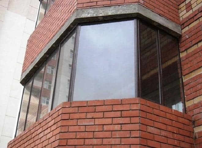 многоугольный балкон