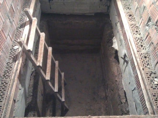 Готовим яму