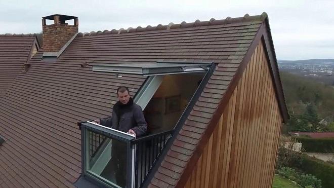 балкон-окно