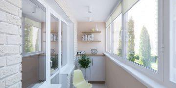Облагороженный балкон