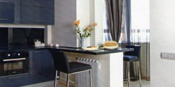 Объединение балкона и кухни