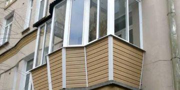 нестандартный балкон